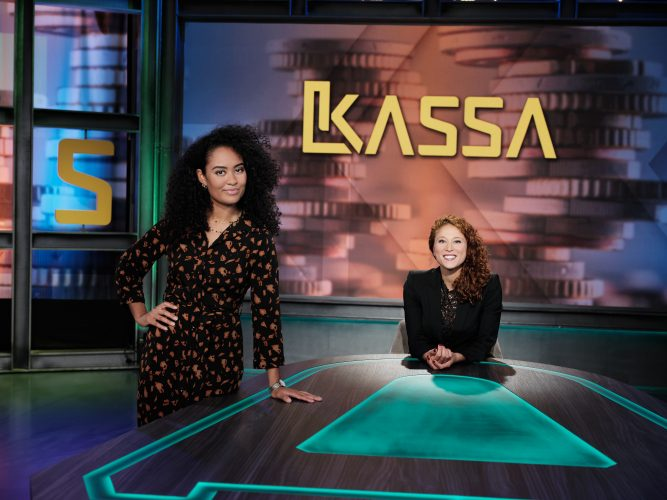 Kassa met Amber Kortzorg en Ciana Mayam